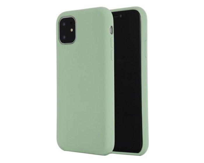 My Colors Original Liquid Silicone Case Θήκη Σιλικόνης Light Green (iPhone 11)