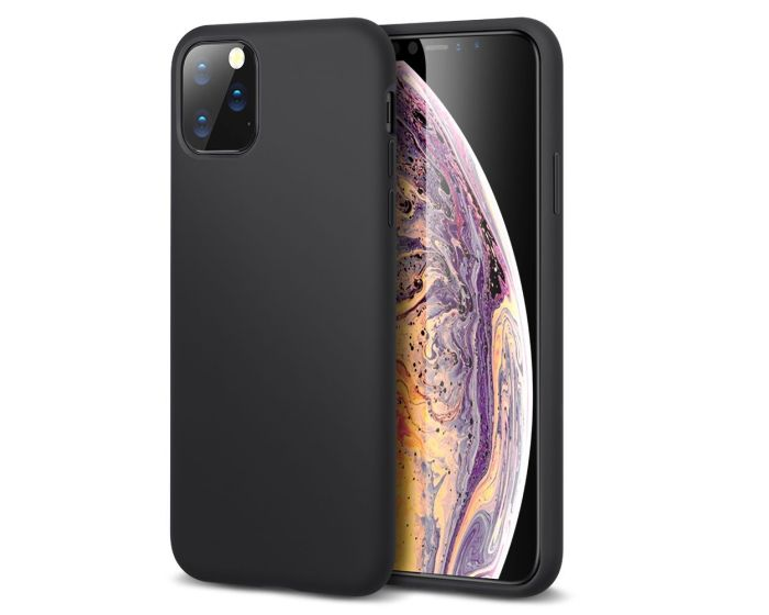 My Colors Original Liquid Silicone Case Θήκη Σιλικόνης Black (iPhone 11 Pro)