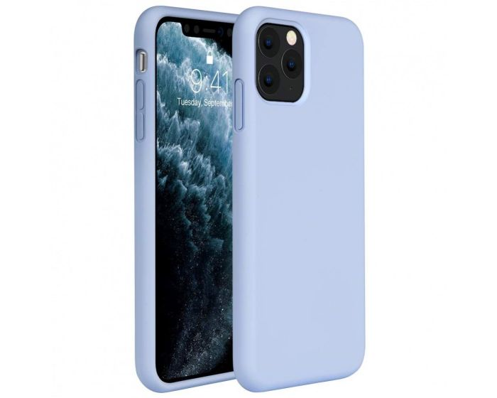 My Colors Original Liquid Silicone Case Θήκη Σιλικόνης Light Blue (iPhone 11 Pro Max)
