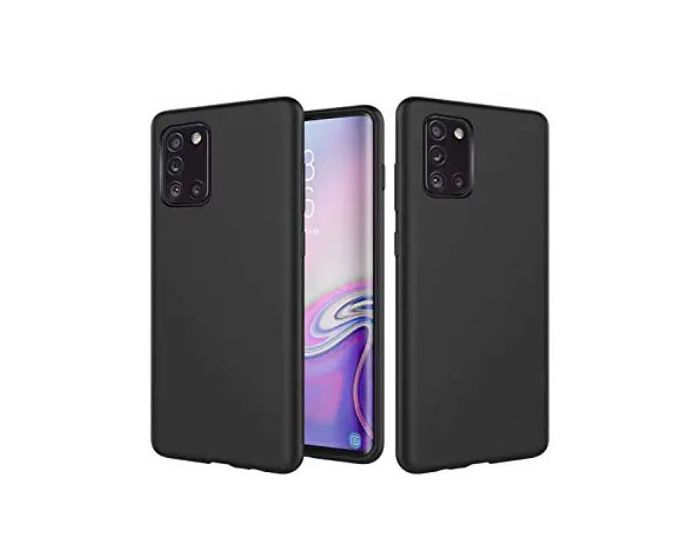 My Colors Original Liquid Silicone Case Θήκη Σιλικόνης Black (Samsung Galaxy A31)