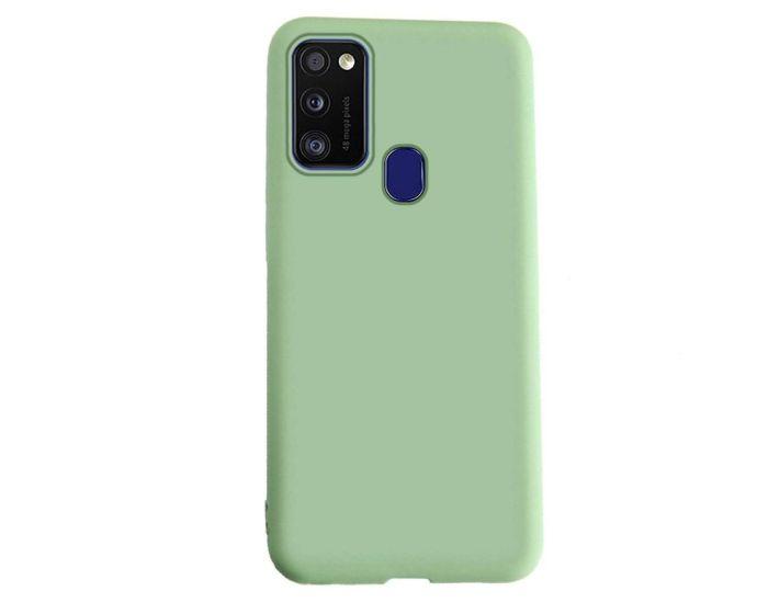 My Colors Original Liquid Silicone Case Θήκη Σιλικόνης Light Green (Samsung Galaxy M21 / M30s)