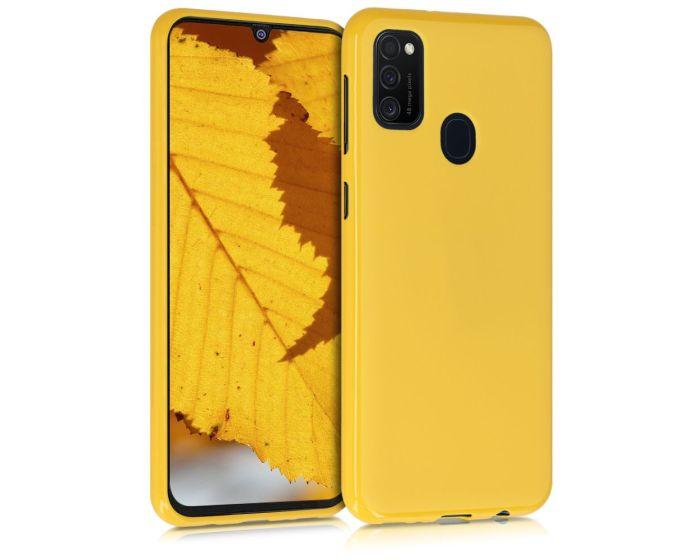My Colors Original Liquid Silicone Case Θήκη Σιλικόνης Yellow (Samsung Galaxy M21 / M30s)