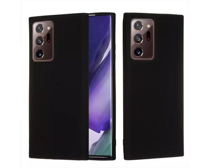 My Colors Original Liquid Silicone Case Θήκη Σιλικόνης Black (Samsung Galaxy Note 20 Ultra)