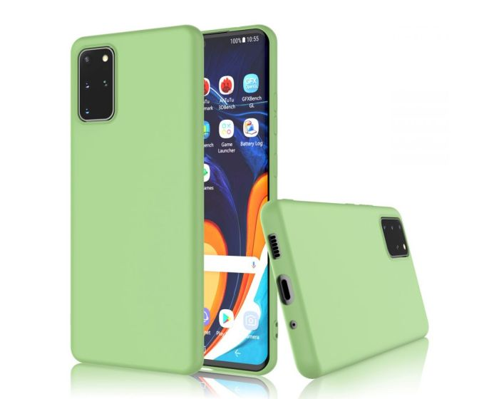 My Colors Original Liquid Silicone Case Θήκη Σιλικόνης Light Green (Samsung Galaxy S20 Plus)