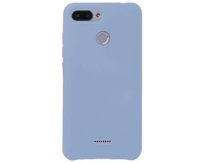 My Colors Original Liquid Silicone Case Θήκη Σιλικόνης Light Blue (Xiaomi Redmi 6)