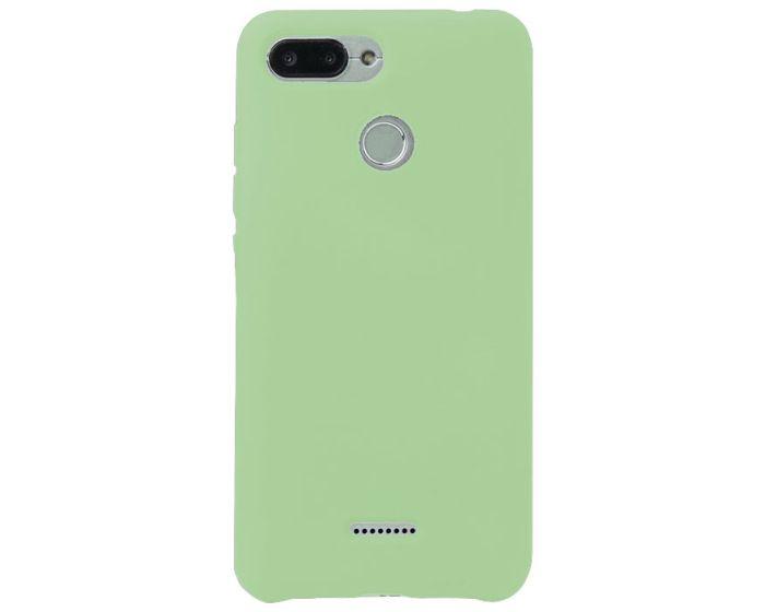 My Colors Original Liquid Silicone Case Θήκη Σιλικόνης Light Green (Xiaomi Redmi 6)