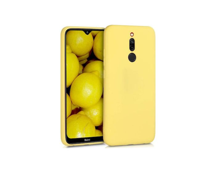 My Colors Original Liquid Silicone Case Θήκη Σιλικόνης Yellow (Xiaomi Redmi 8)