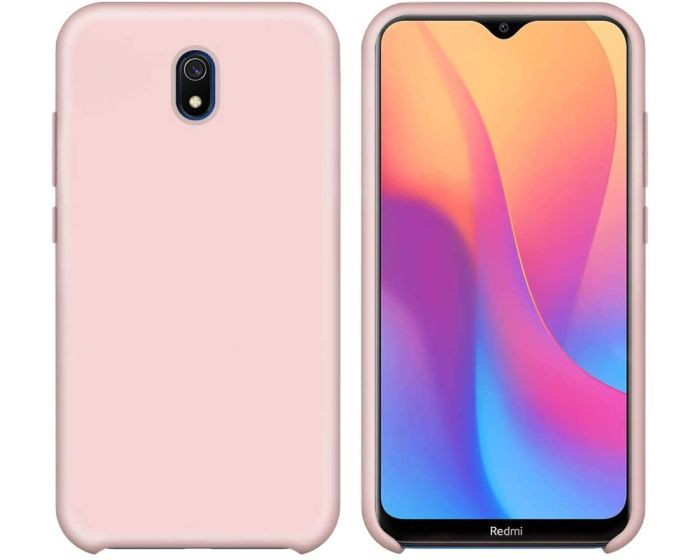 My Colors Original Liquid Silicone Case Θήκη Σιλικόνης Pink (Xiaomi Redmi 8A)