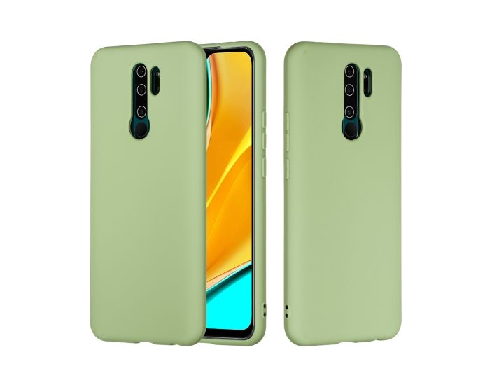 My Colors Original Liquid Silicone Case Θήκη Σιλικόνης Light Green (Xiaomi Redmi 9)