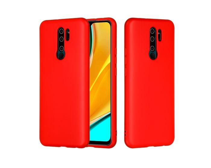 My Colors Original Liquid Silicone Case Θήκη Σιλικόνης Red (Xiaomi Redmi 9)