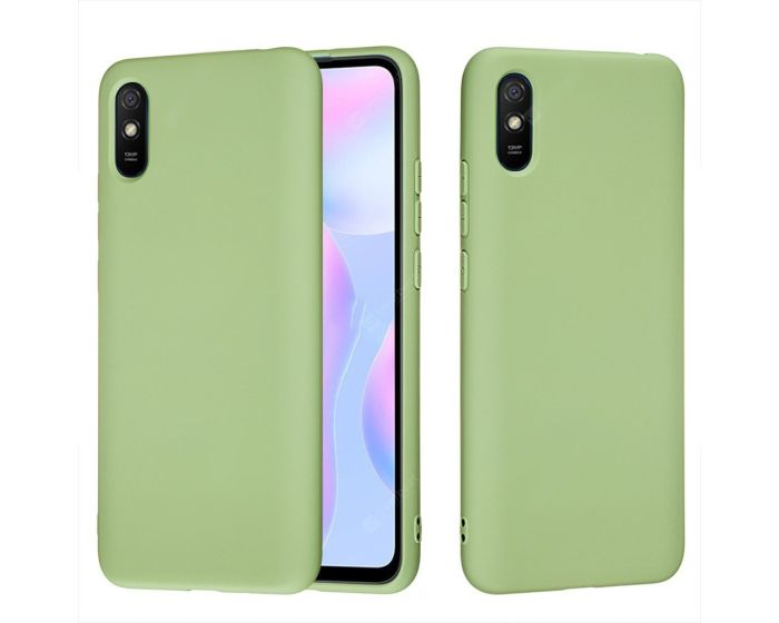 My Colors Original Liquid Silicone Case Θήκη Σιλικόνης Light Green (Xiaomi Redmi 9A / 9AT)