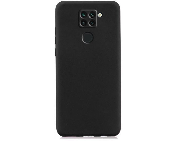 My Colors Original Liquid Silicone Case Θήκη Σιλικόνης Black (Xiaomi Redmi Note 9)