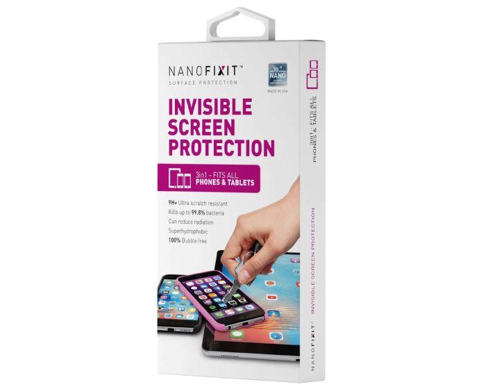 Nanofixit 3in1 Invisible Liquid Screen Protector - 3 Τεμ. Υγρό Προστασίας Οθόνης για Smartphone / Tablet