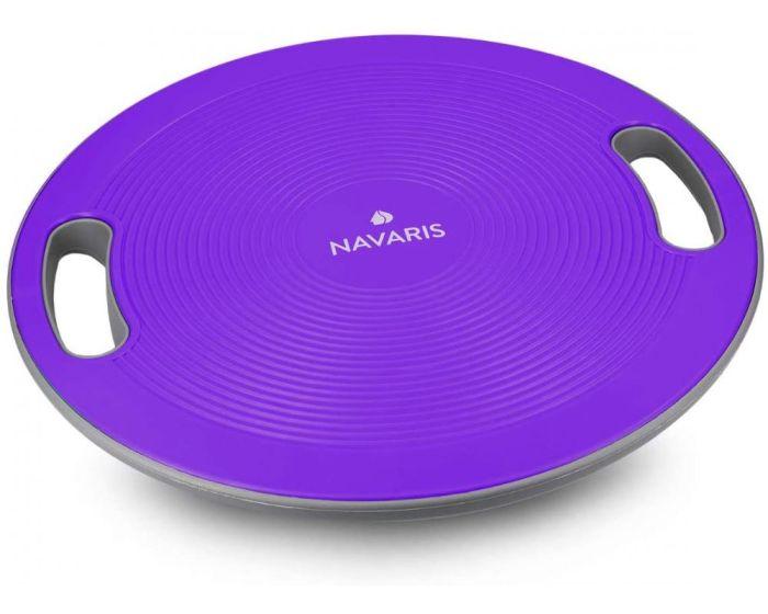 Navaris Balance Board 40cm (44181.38) Σανίδα Ισορροπίας - Purple