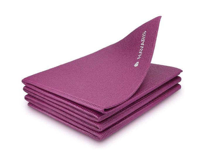 Navaris Folding Non-Slip Yoga Mat (45983.13) Στρώμα Γυμναστικής - Bordeaux