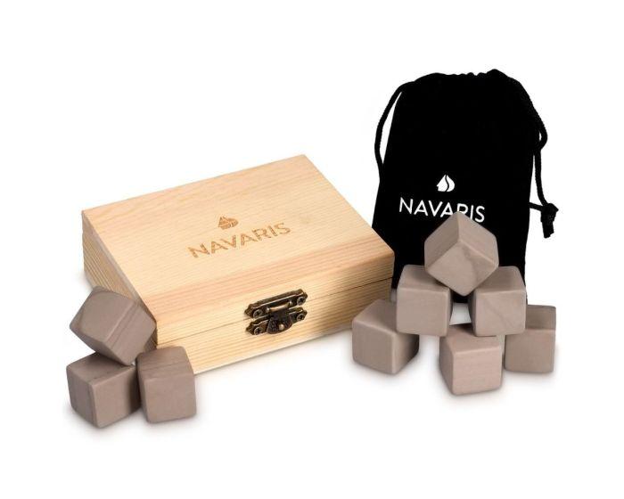 Navaris Granite Whiskey Stones (39922) Σετ 9 τεμαχίων Chilling Cubes