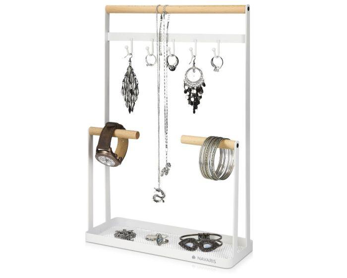 Navaris Jewellery Stand Necklace Holder (50574.02) Βάση Κοσμημάτων - White