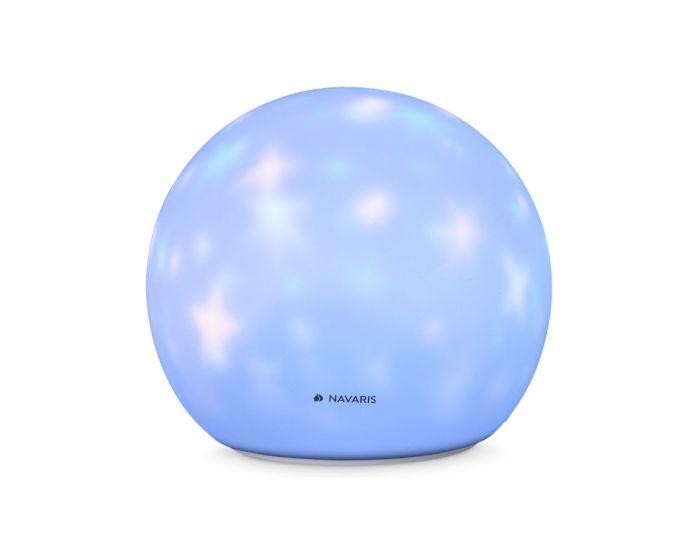 Navaris Silicone LED Night Light (47986.01) Επιτραπέζιο Φωτάκι Νυκτός LED Star Ball