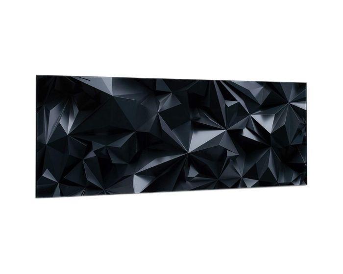 Navaris Magnetic Glass Memo Board (53031.01) Γυάλινος Μαγνητικός Πίνακας Σημειώσεων 80 x 30 Black