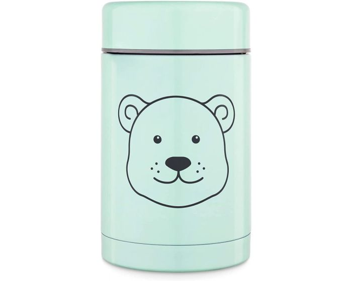 Navaris Stainless Steel Leak Proof Thermal Mug for Food 500mL (53346.01) Θερμός Φαγητού - Mint Green