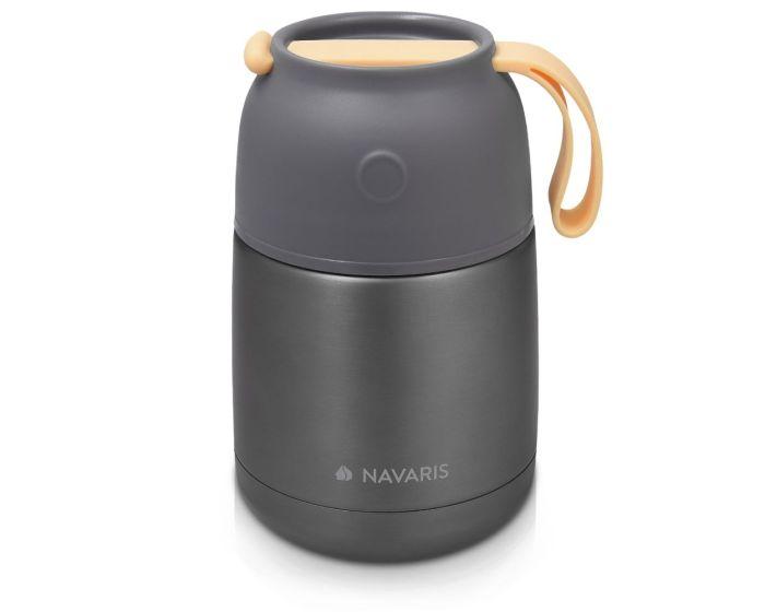 Navaris Vacuum Insulated Food Jar (47325.1.19) Θερμός για Φαγητό από Ανοξείδωτο Ατσάλι