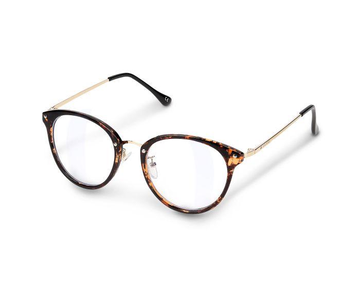 Navaris Vintage Retro Round Unisex Glasses (48516.05) Γυαλιά με φίλτρο Anti-Blue Light - Carey