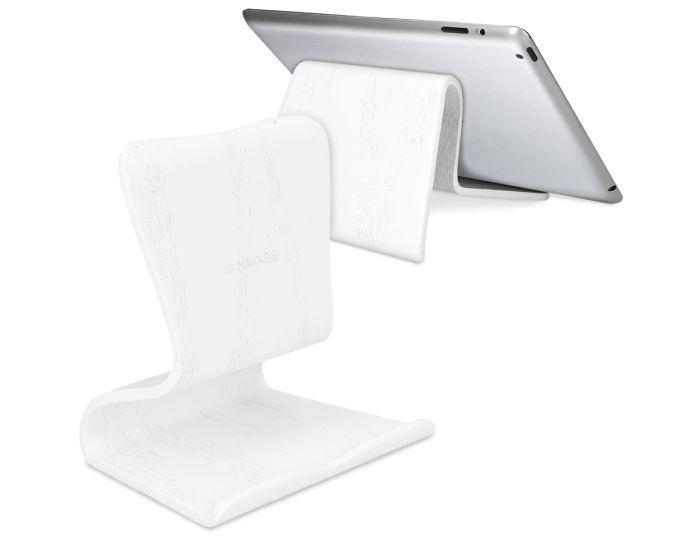 Navaris Wooden Tablet Stand (50080.02) Ξύλινη Βάση Tablet - White Oak