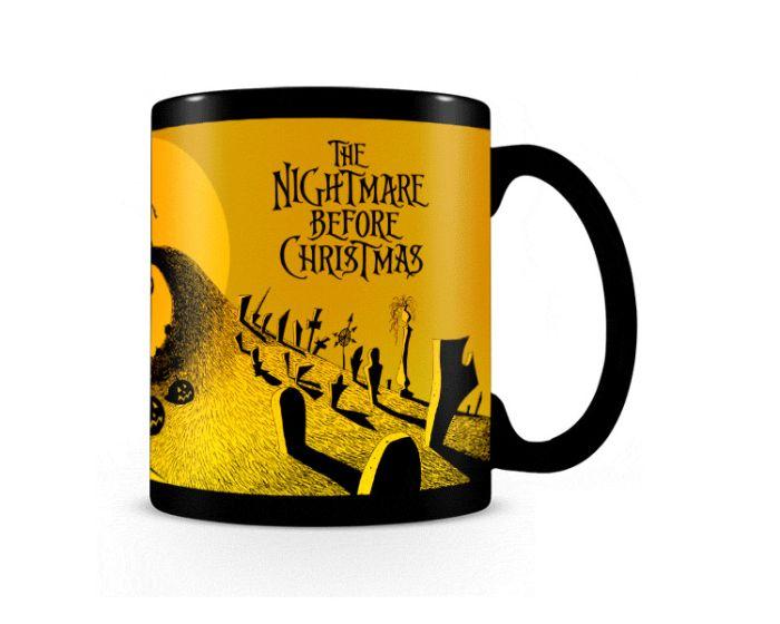 Nightmare Before Christmas (Graveyard Scene) Heat Changing Mug 315ml Κούπα με Ζεστό - Κρύο Σχέδιο