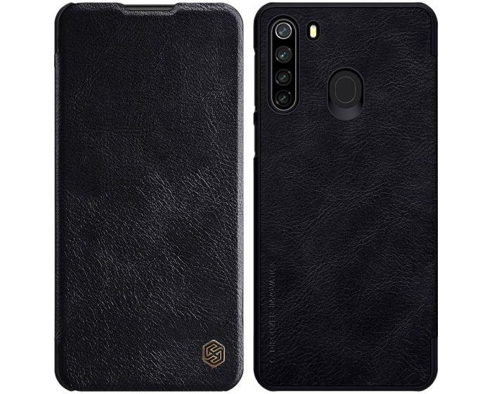 Nillkin Qin High Quality PU Leather Δερμάτινη Θήκη Book - Black (Samsung Galaxy M21 / M30s)