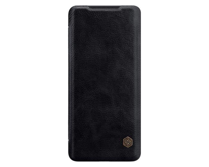 Nillkin Qin High Quality PU Leather Δερμάτινη Θήκη Book - Black (Samsung Galaxy S20 Plus)