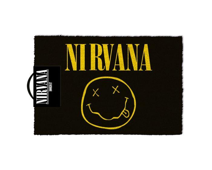 Nirvana (Smiley) Door Mat - Πατάκι Εισόδου 40x60cm