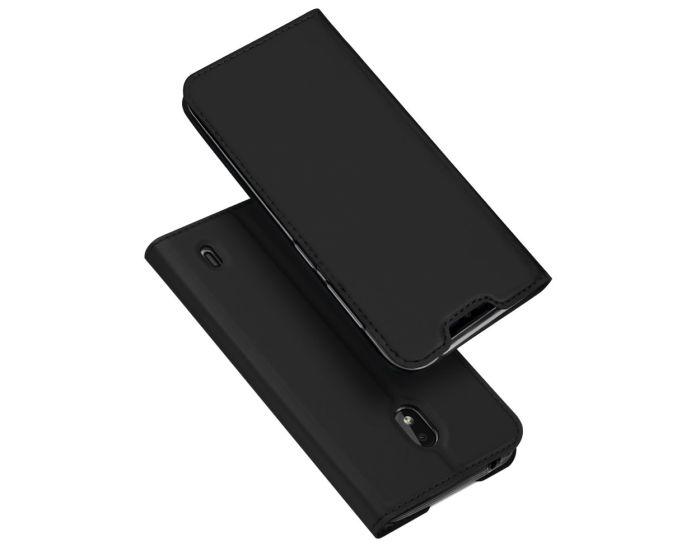 DUX DUCIS SkinPro Wallet Case Θήκη Πορτοφόλι με Stand - Black (Nokia 2.2)