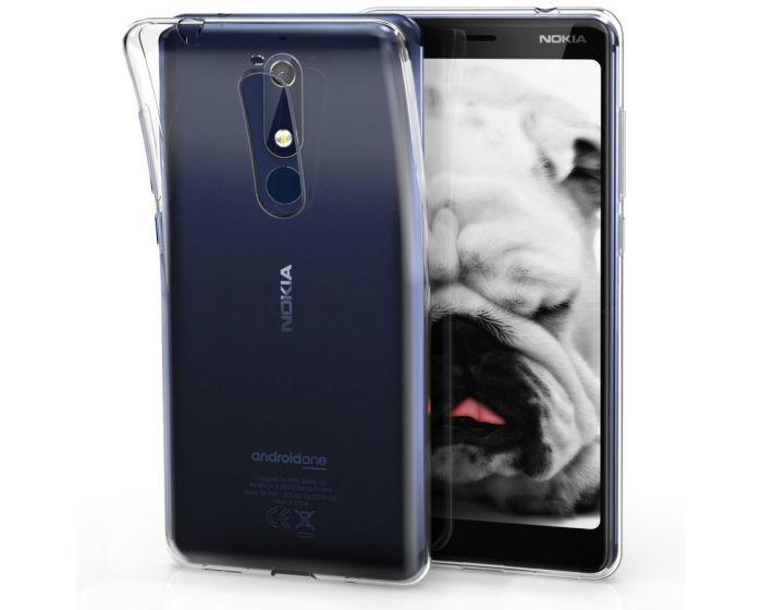 KWmobile TPU Clear Silicone Case Θήκη Σιλικόνης (45400.03) Διάφανη (Nokia 5.1 2018)
