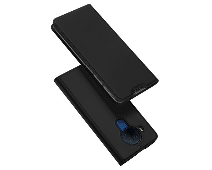 DUX DUCIS SkinPro Wallet Case Θήκη Πορτοφόλι με Stand - Black (Nokia 5.4)