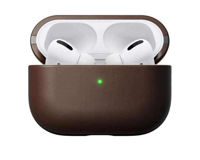 Nomad Horween Leather Case Δερμάτινη Θήκη Brown (Apple AirPods Pro)
