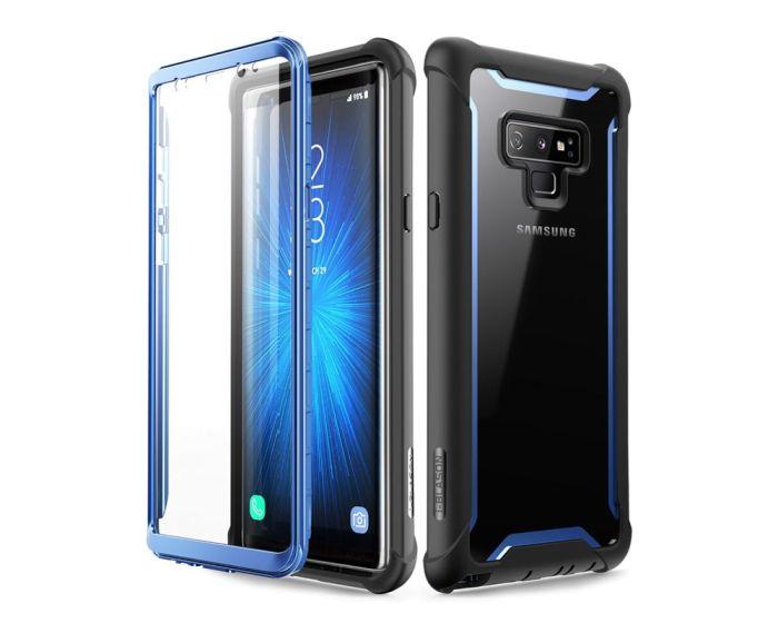 i-Blason Ανθεκτική Θήκη Ares Full Body Case With Built-In Screen Protector Black / Blue (Samsung Galaxy Note 9)