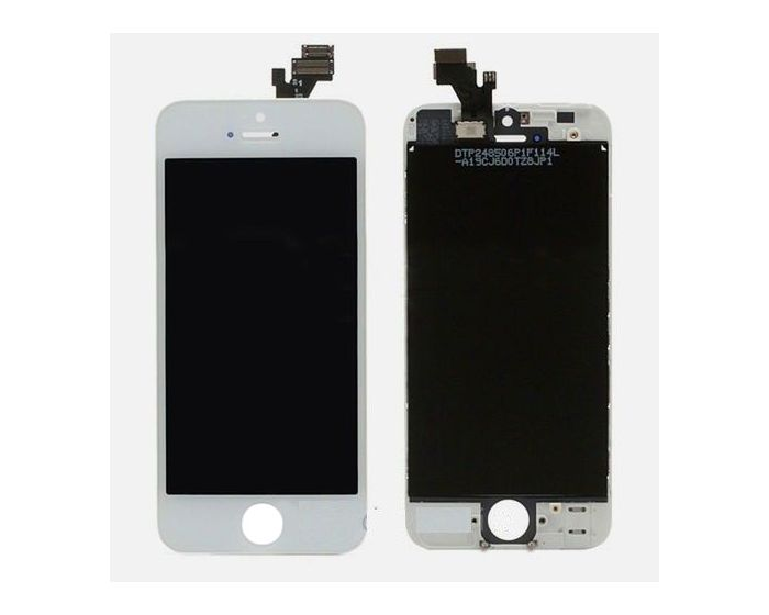 OEM Οθόνη LCD Touch Screen + Digitizer AAA - White (iPhone 5)
