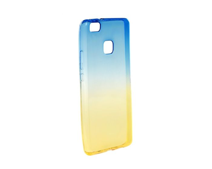 Forcell Soft TPU Ombre - Blue / Gold (Huawei P9 Lite Mini)