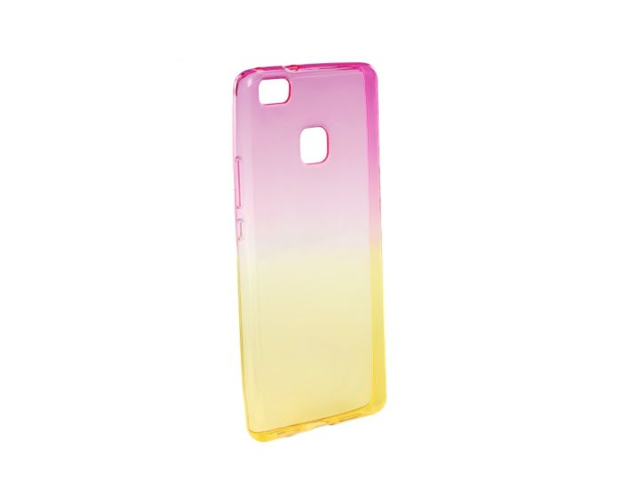 Forcell Soft TPU Ombre - Pink / Gold (Huawei P9 Lite Mini)