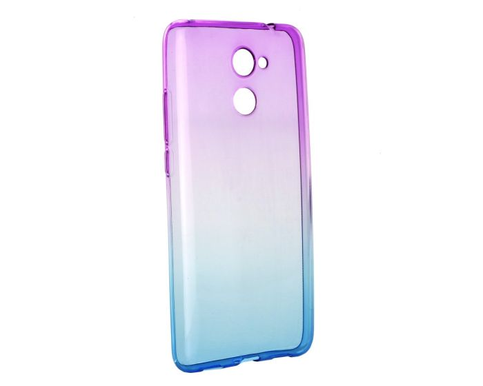 Forcell Soft TPU Ombre - Purple / Blue (Huawei Y7)