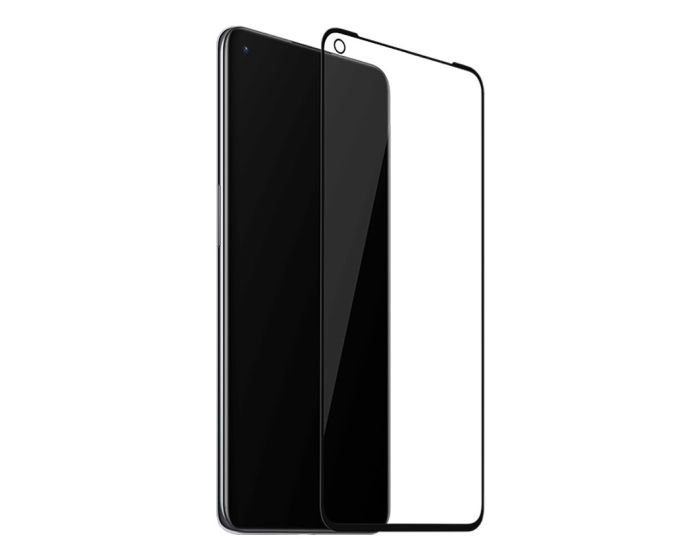 OnePlus 3D Full Face Curved Black Αντιχαρακτικό Γυαλί 9H Tempered Glass (OnePlus 9)