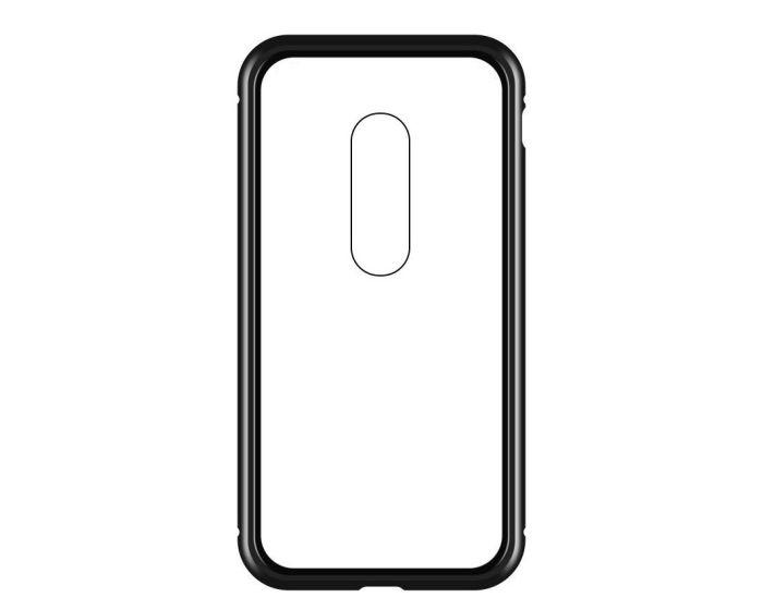 Wozinsky Magneto Full Body Bumper Case - Μαγνητική Θήκη Clear / Black (OnePlus 7)