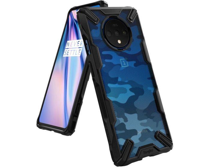Ringke Fusion-X Σκληρή Θήκη με TPU Bumper Camo (OnePlus 7T)