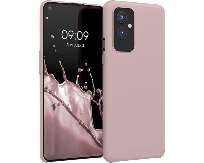 KWmobile Flexible Rubber Case Θήκη Σιλικόνης (54415.10) Dusty Pink (OnePlus 9)