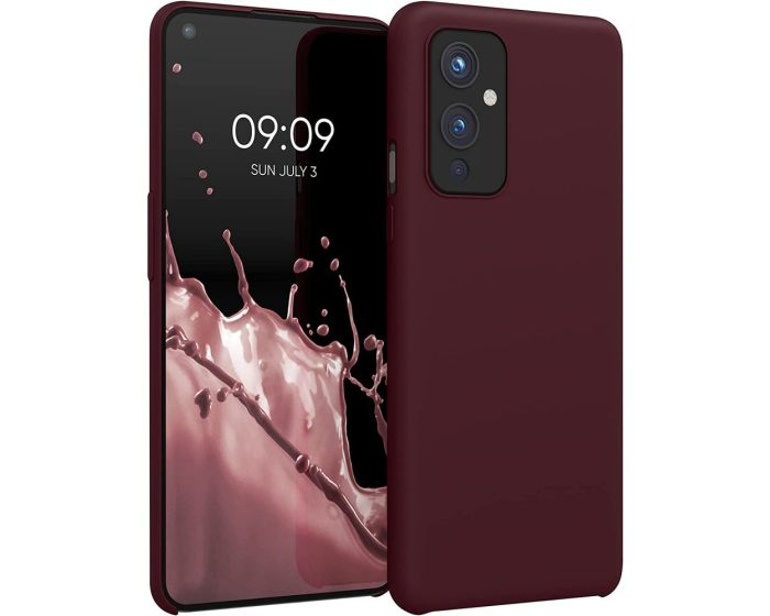 KWmobile Flexible Rubber Case Θήκη Σιλικόνης (54415.190) Tawny Red (OnePlus 9)