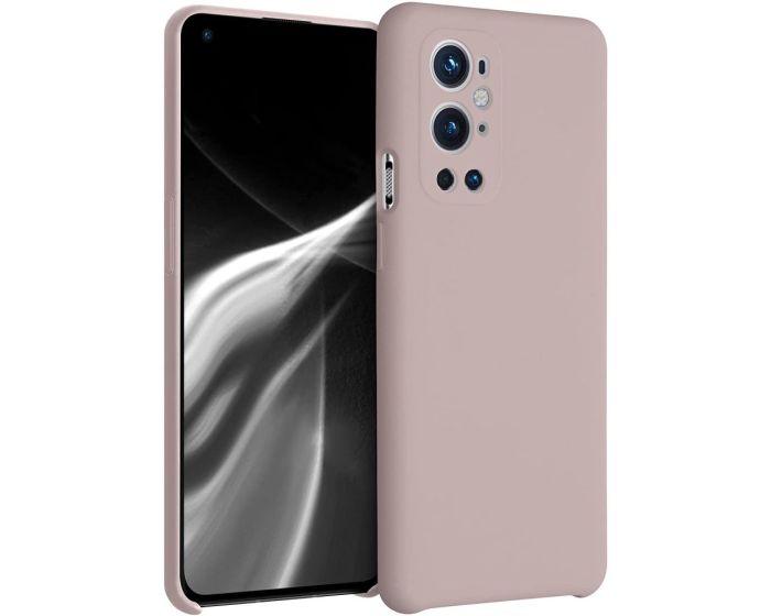 KWmobile Flexible Rubber Case Θήκη Σιλικόνης (54416.10) Dusty Pink (OnePlus 9 Pro)