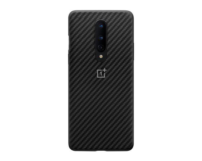 OnePlus Karbon Bumper Case Θήκη Black (OnePlus 8)