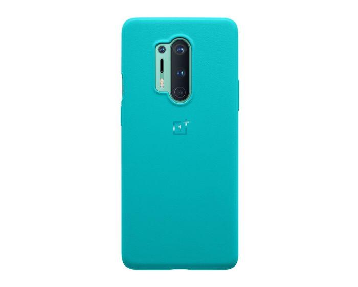 OnePlus Sandstone Bumper Case Θήκη Cyan (OnePlus 8 Pro)