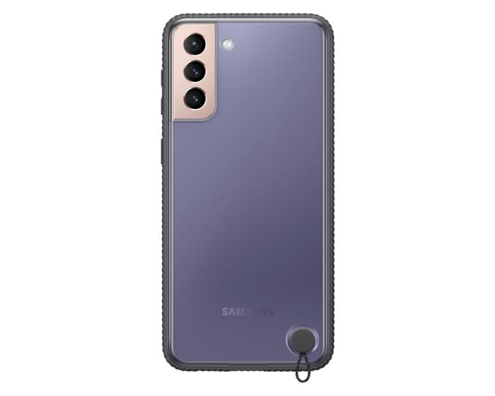 Original Samsung Clear Protective Cover (EF-GG996CBEGWW) Θήκη Black (Samsung Galaxy S21 Plus 5G)
