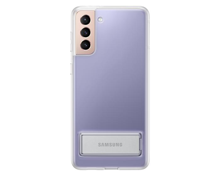Original Samsung Clear Standing Cover (EF-JG996CTEGWW) Θήκη Διάφανη (Samsung Galaxy S21 Plus 5G)
